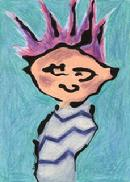 mohawk hair style , spike hairdo, haircut, Family Guy, Stewie look alike, Calvin and Hobbes, comic strip